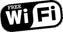 Conexión a internet wiffi en todo el restaurante